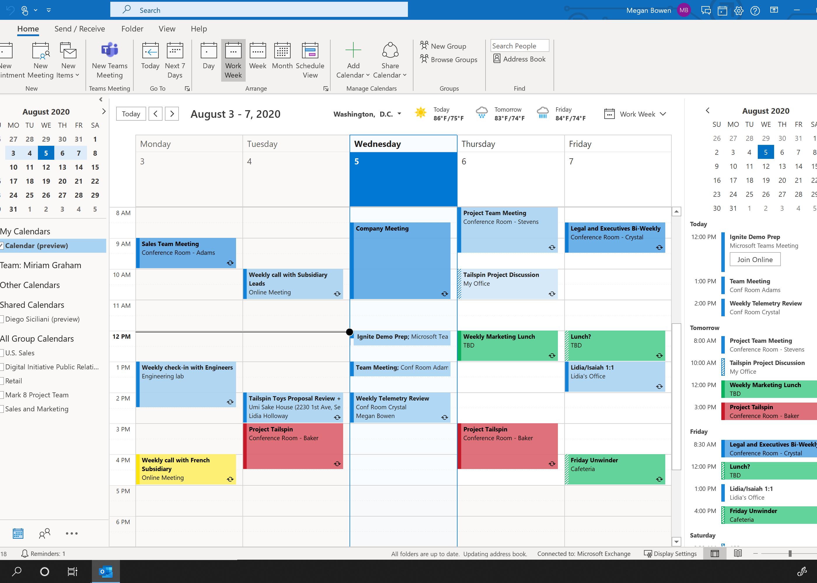 Tridium Niagara4 Outlook Calendar Integration